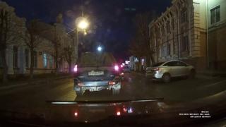 ДТП С ДПС в центре города около полиции