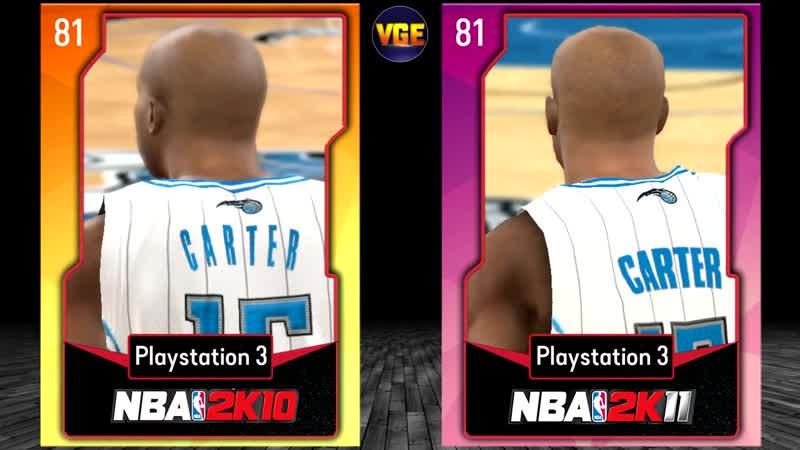 Винс Картер от NBA 2K до NBA 2K20!