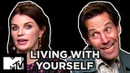 Living With Yourself Paul Rudd Aisling Bea Dish the Dirt on Their Sex Scene MTV Movies
