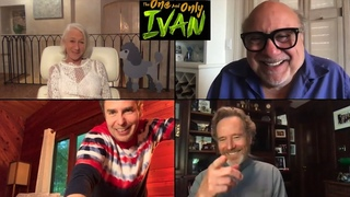 THE ONE AND ONLY IVAN with Bryan Cranston, Danny Devito, Helen Mirren & Sam Rockwell