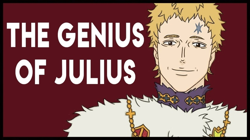 How to Kill Off an Overpowered Character Wizard King Julius Novachrono Black Clover