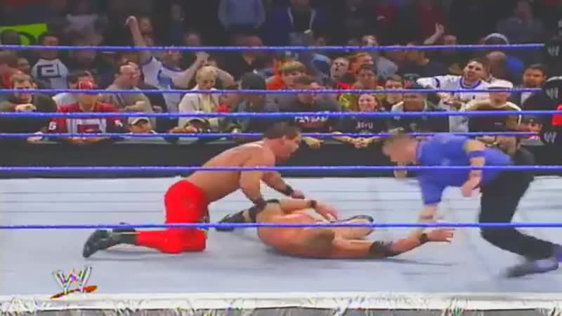 Brock Lesnar vs Chris Benoit DIc 4 2003