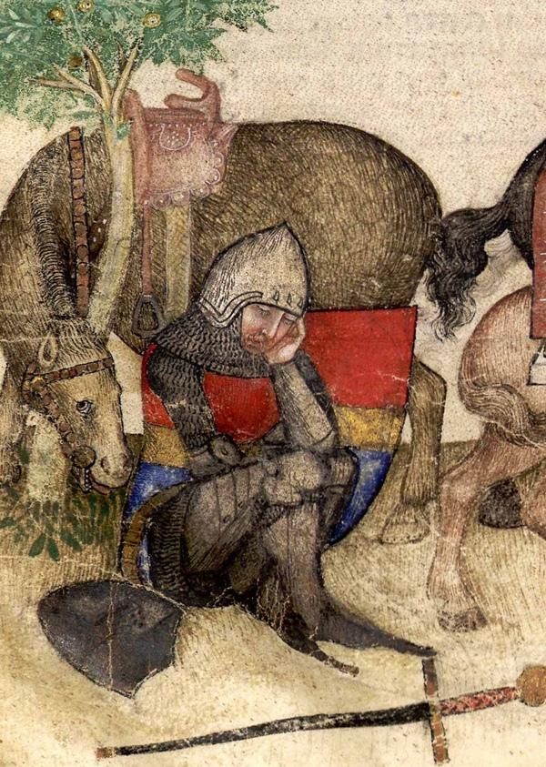 Рыцарь в раздумье