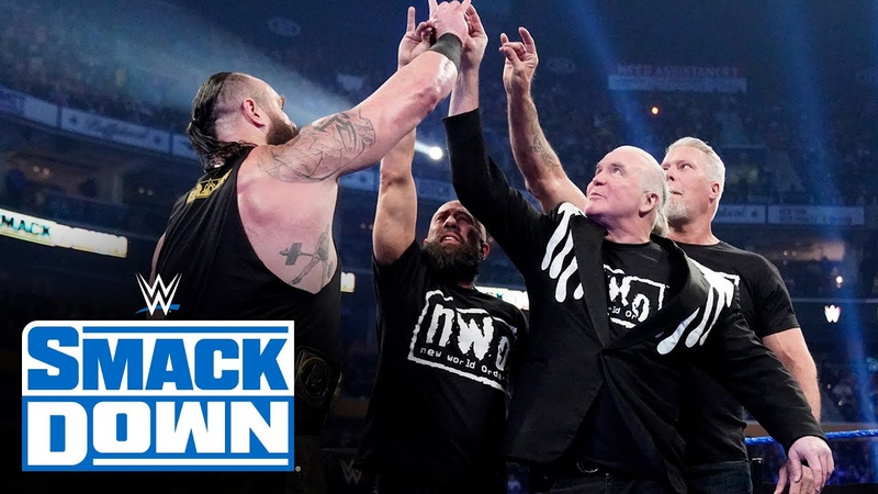 Video@alexablissdaily Braun Strowman and nWo Too Sweet on SmackDown SmackDown March 6 2020