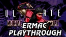 Ultimate Mortal Kombat 3 Arcade Ermac Playthrough @720p 60fps