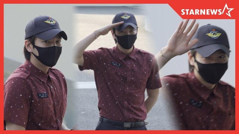 한류스타 장근석 (Keun Suk Jang), 오늘(29일) 소집해제 fullfill public service worker duty! [2020.05.29.]