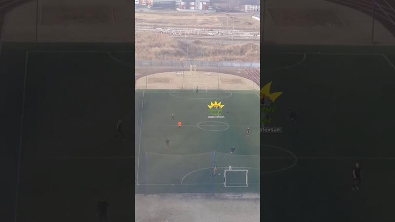 Карантин в Саратове Дети в Солнечном играют в футбол и катаются на детском паравозике