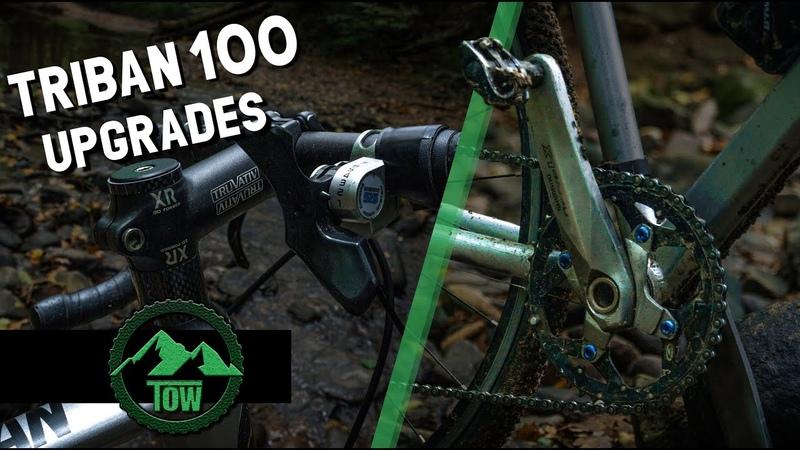 TRIBAN 100 UPGRADES pédalier pneu Ep 2
