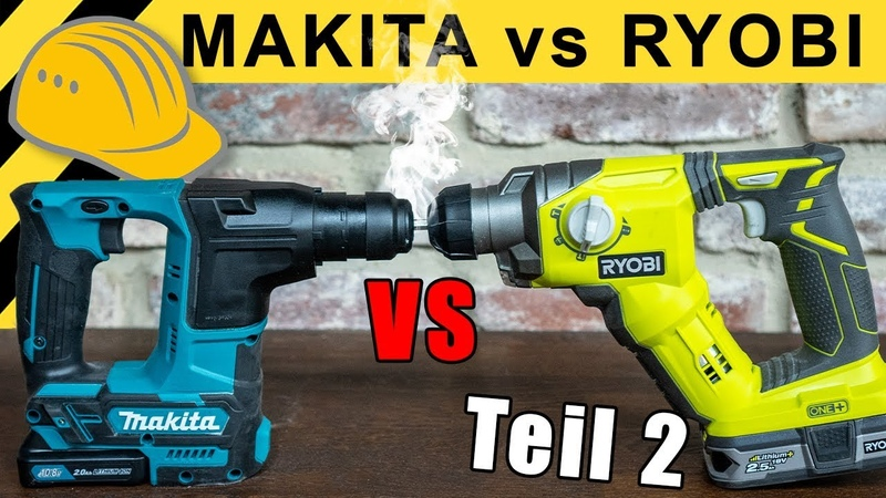 BAUMARKT vs PROFI Liga DUELL MAKITA gegen RYOBI WERKZEUG NEWS 03