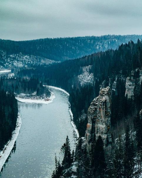 Снежный Пермский край. Потрясающая красота!