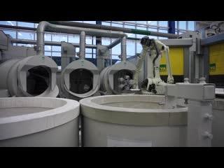 Изготовление литейных форм для турбинных лопаток