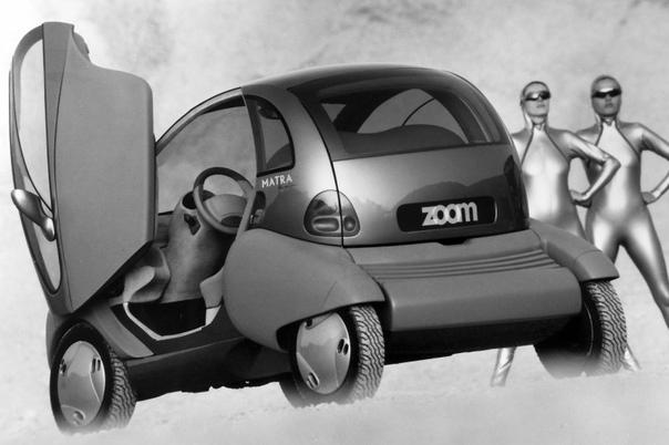 Городской электромобиль Renault Zoom