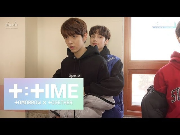 [TTIME] Follow only SOOBIN like a glue! - TXT (투모로우바이투게더)