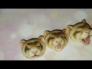 Хорек ferret бжд с 5 сменными моськами