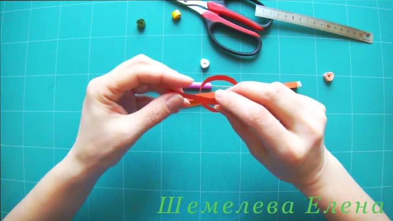 МК Как скрутить ажурную спираль в технике квиллинг