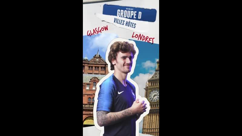 Le tirage au sort de l'EURO 2020