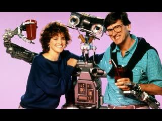 Короткое замыкание / Short Circuit / 1986 / Советская прокатная копия / DUB СССР / VHS