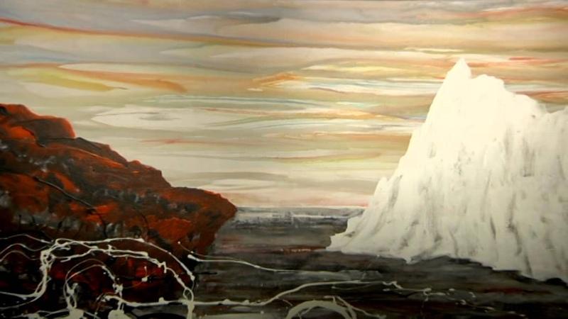 Картины Антонио Менегетти как погружение в пространство бесконечности и времени
