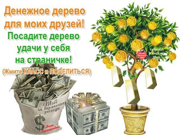 стихи про денежное дерево поздравление