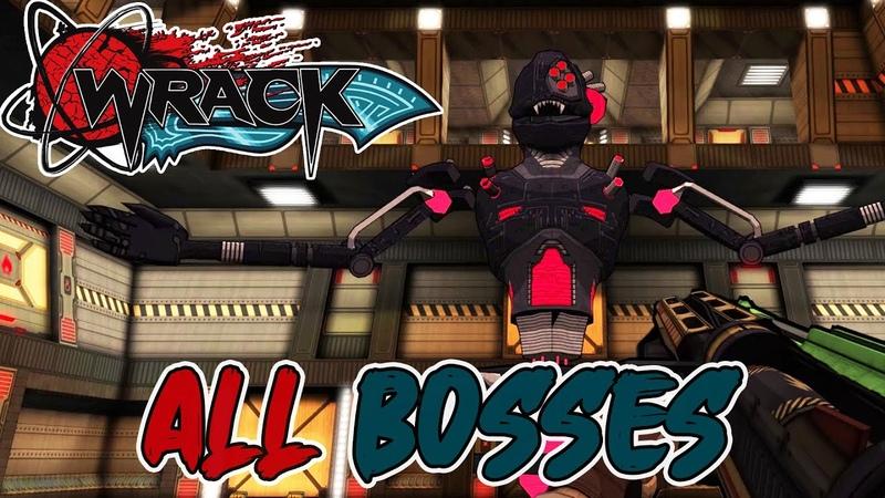 Wrack All Bosses Ending