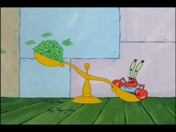 Spongebob Squarepants Music: Cha-Ching (lyrics in description)