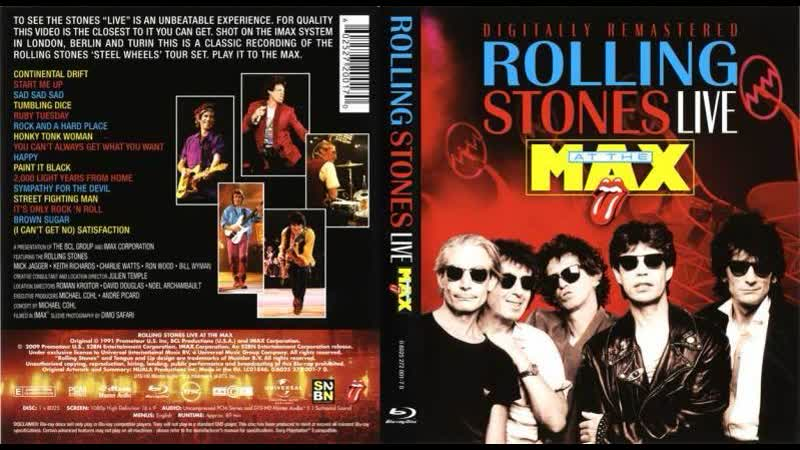 The Rolling Stones - Happy (Live At The Max 1991)
