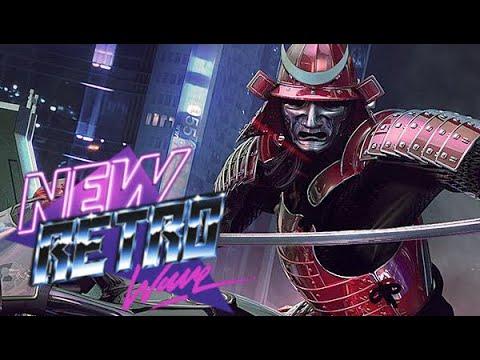 Wolf and Raven Cyber Samurai