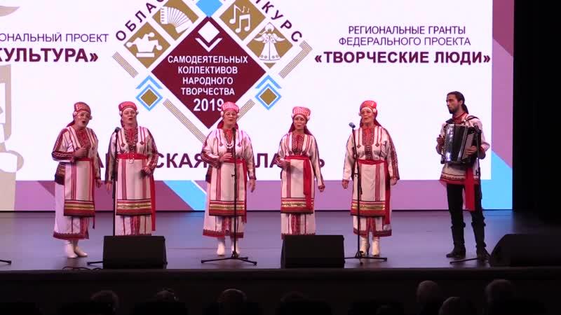 Эрзяночки народный мордовский вокальный ансамбль м р Нефтегорский