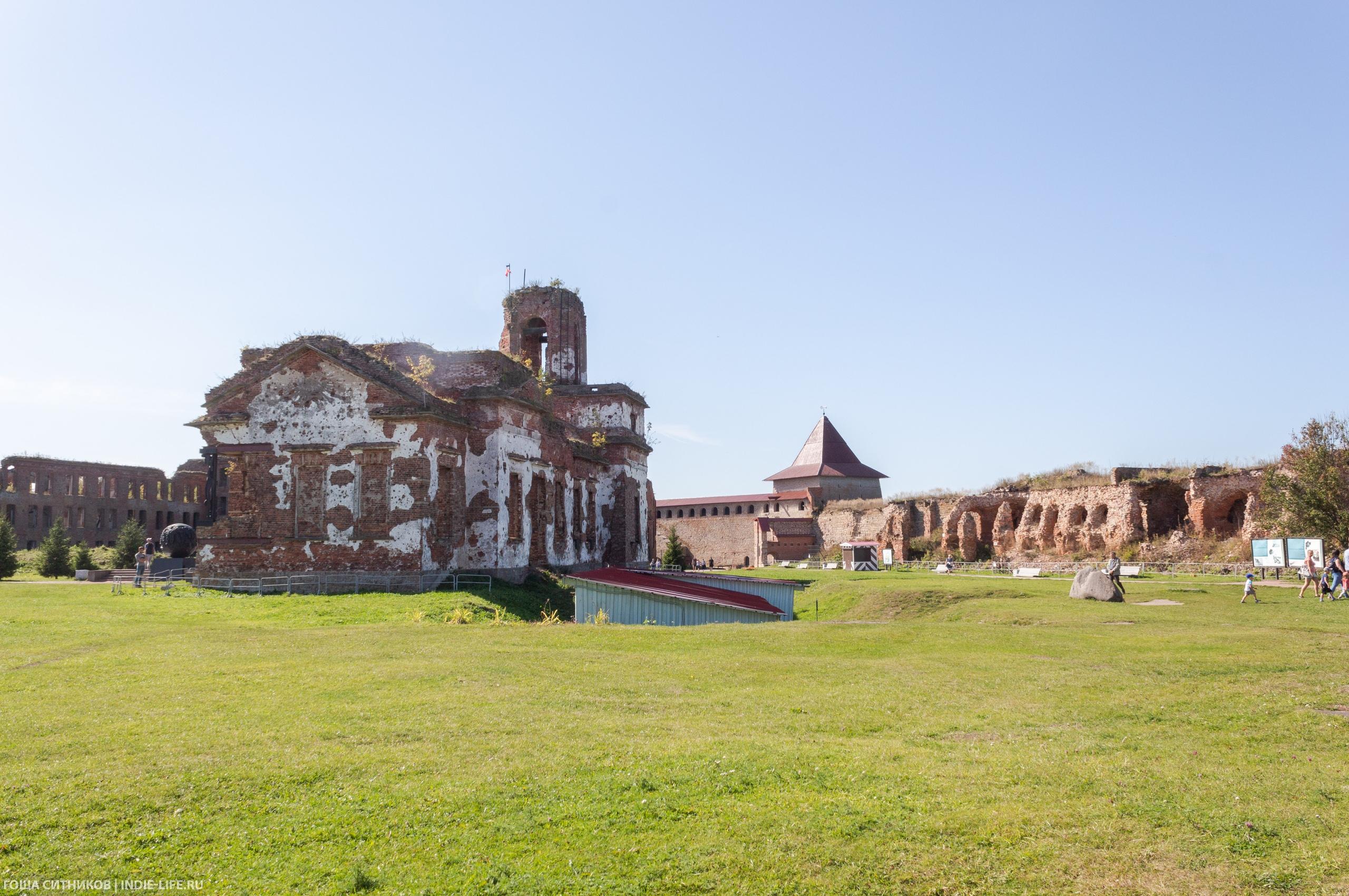 Храм крепость Орешек