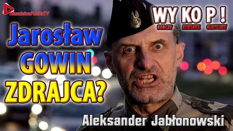 Gowin Jarosław słodko pierdzący i STAN WYJĄTKOWY Po wyborach?? Sanczo chwyt poniżej pansa PiS'u