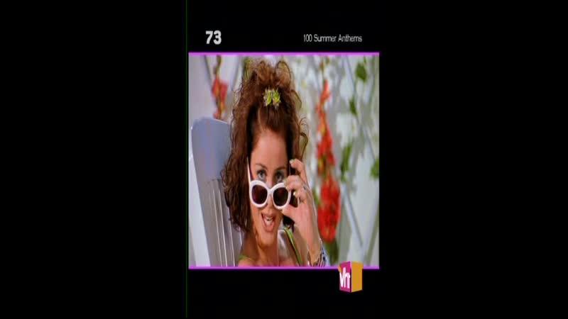 Aqua Barbie Girl VH1 Classic TOP 100 Countdown Saturday 100 Summer Anthems 73 место