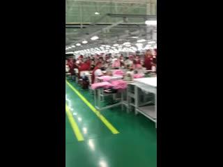 Видеообзор одной из фабрик .