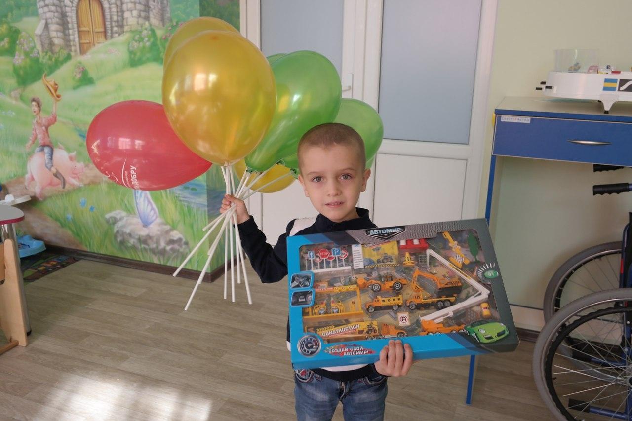 День рождения в детском онкоотделении