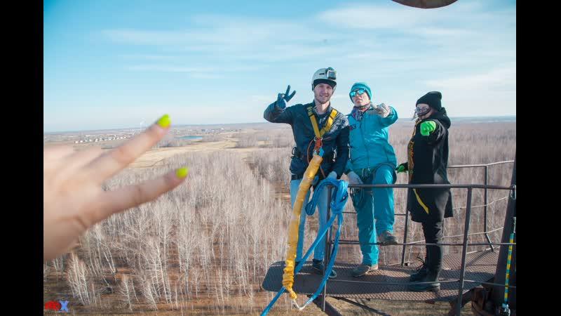 Sergey G. прыжок FreeFallProX команда ProX74 объект AT53 Chelyabinsk 2019 1 jump RopeJumping