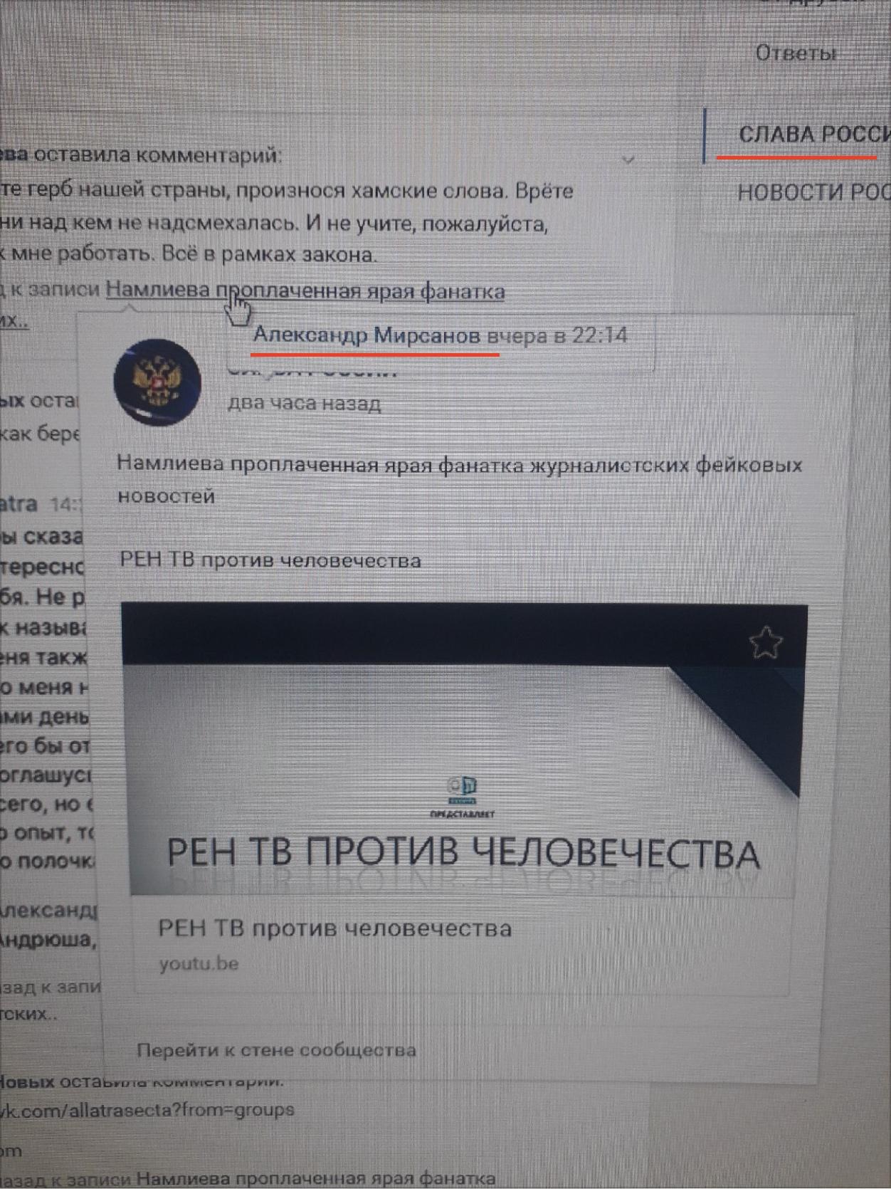 «Слава России» и её сквернословие, изображение №14