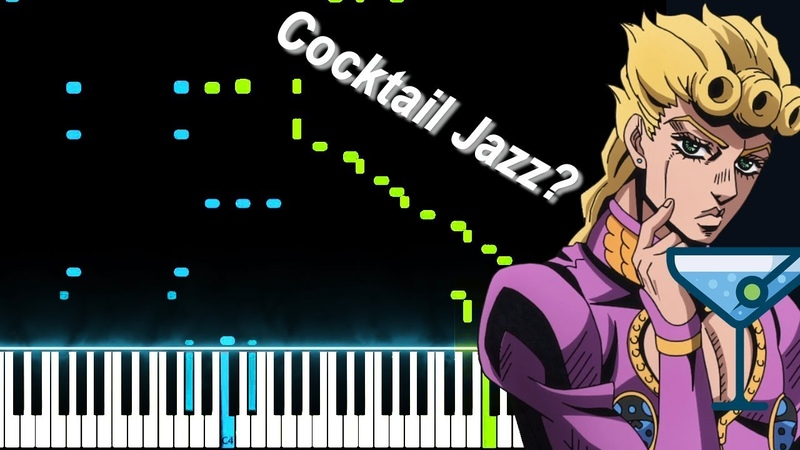 Giorno's Theme (Jazz Version) - JoJo's Bizarre Adventure: Golden Wind OST (Piano Synthesia)