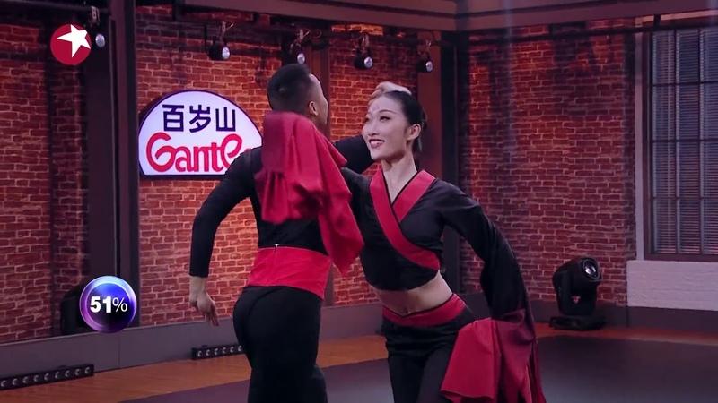 来自湖北武汉的林晖莛张璨,通过楚舞展现楚汉文化  《舞者》The Greatest Dancer EP2【1999