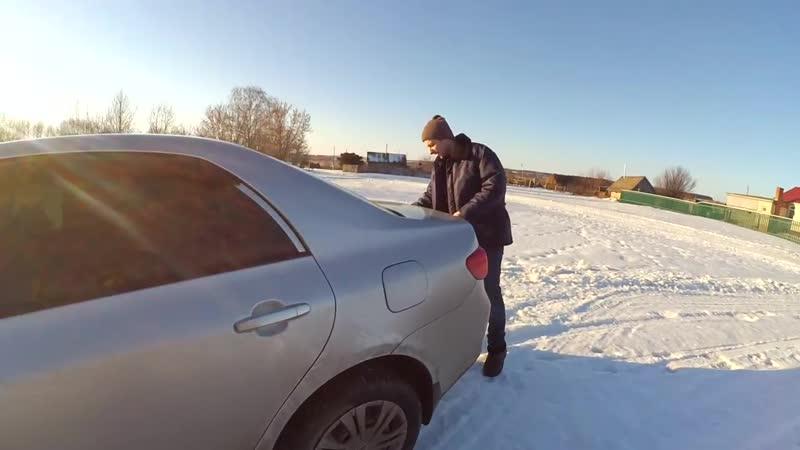 Деревенский треш обзор Toyota Corolla Е140 Е150