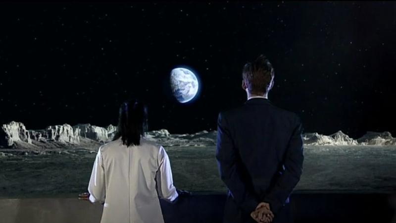 Сколько людей хотят попасть на Луну А мы уже здесь Смит и Джонс Доктор Кто