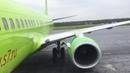 Перелет Нижневартовск Новосибирск Flight report Nizhnevartovsk Novosibirsk S7 Airlines B737 800