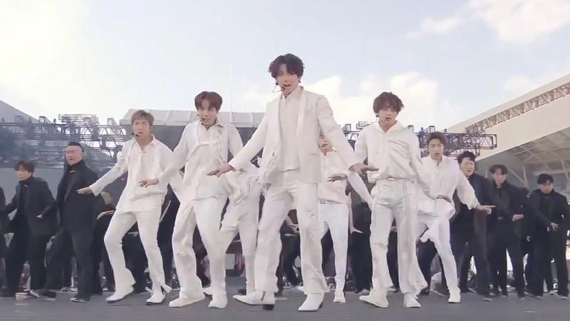 BTS 'Dionysus Not Today' BTS WORLD TOUR LOVE YOURSELF SPEAK YOURSELF in OSAKA