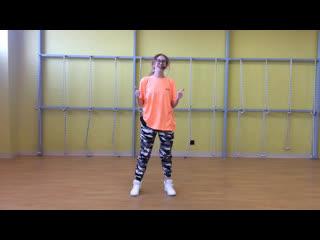 Домашняя тренировка Hip-hop for Kids с Анной Сокериной