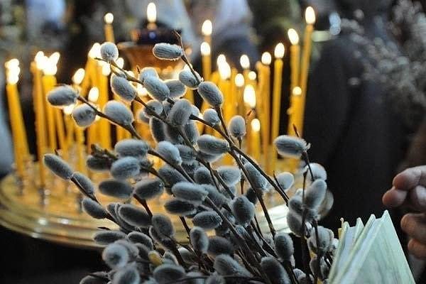 Сегодня православные верующие отмечают Вербное воскресенье