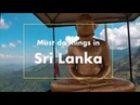 Sri Lanka Things to Do Vlog - Travel Tips 2019 Blog - Places of Interest to Visit