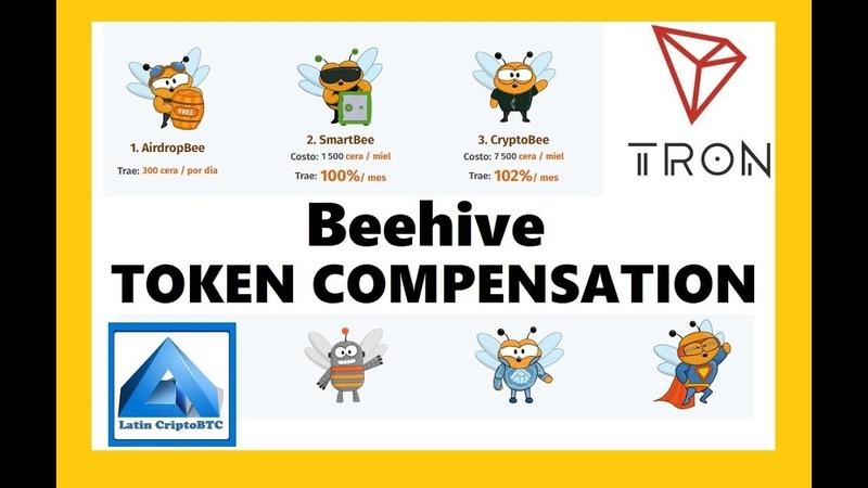 Beehive - Informacion Sobre Su Token Propio Y Como Reclamarlo - Tron Smart Contract
