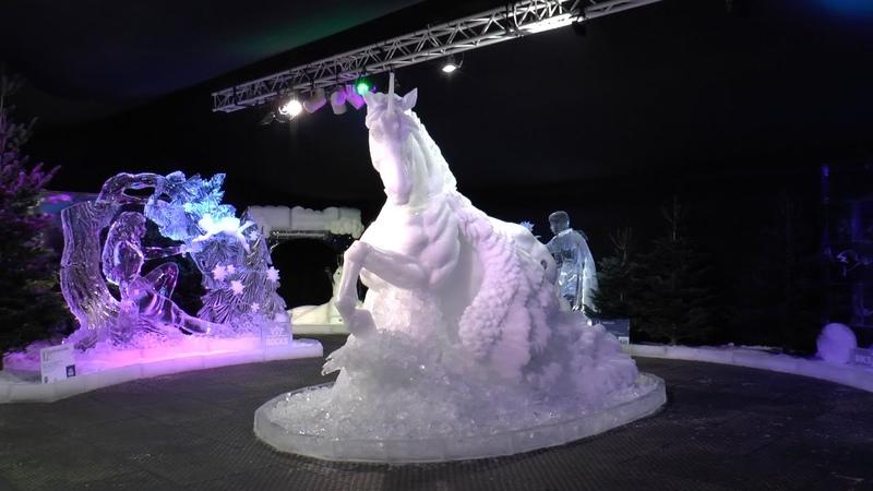 IJssculpturen zijn ook dit jaar weer te zien op Scheveningen