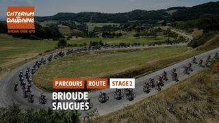 Critérium du Dauphiné 2021 - Découvrez l'étape 2