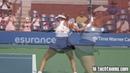 Garbine Muguruza Forehand in Slow Motion - 1000 fps