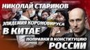 Николай Стариков Кoрoнoвируc из Китая и поправки в Конституцию России