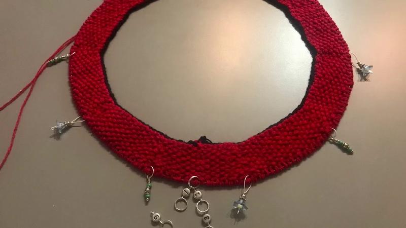 Беретка КОКО. Красный вязанный берет с невероятным французским шармом.Для самых больших модниц!